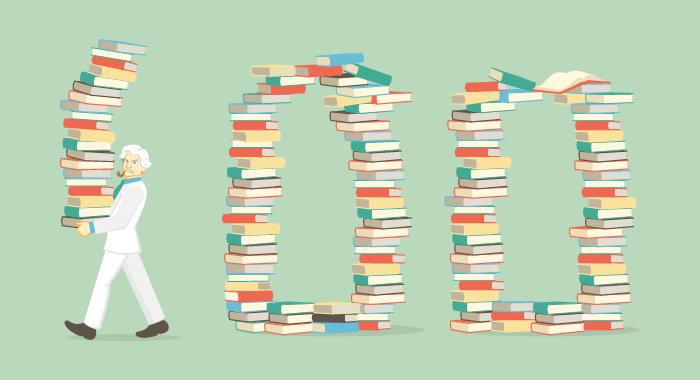 Cosa ho imparato leggendo 100 libri in 1 anno